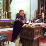 Böjte Csaba atya látogatása
