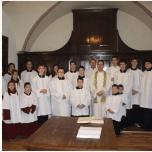 Labancz Zsolt atya látogatása