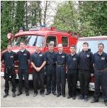 Tűzoltóautó megáldás