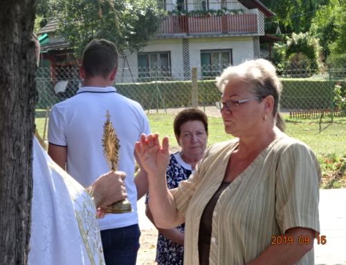 Szentkereszt litánia Bajon