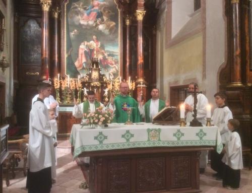 Milán atya 10 éves jubileumi miséje